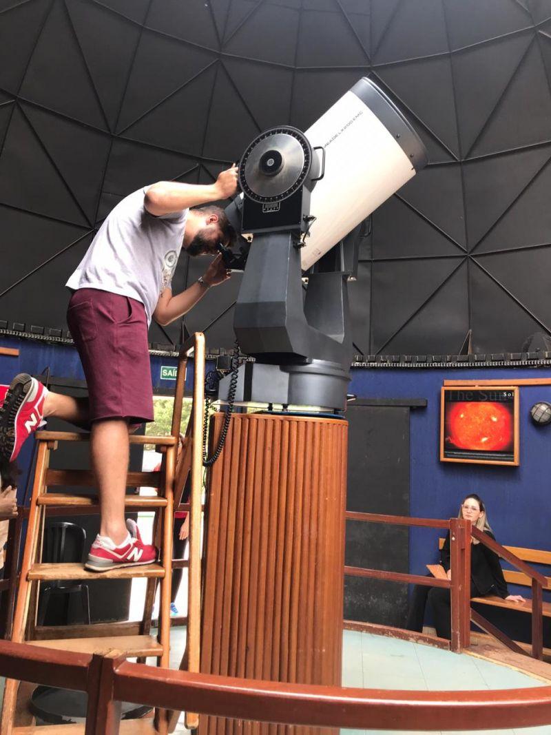 telescópio CEU