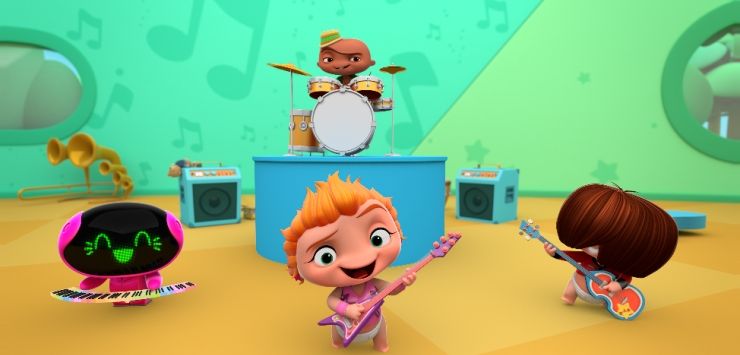 Banda Mini Beat Power Rockers Esta No Discovery Kids Papai Educa